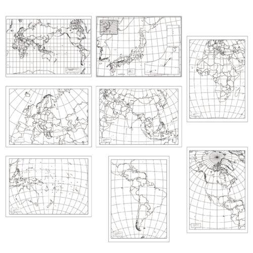 白地図セット